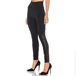 SPANX High Waist Perforated Faux Leather Leggings